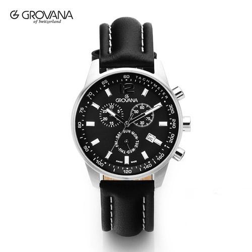 [그로바나시계 GROVANA] 7015.9537 / 남성시계 41mm ( 커플시계 구매시 사은품증정 )
