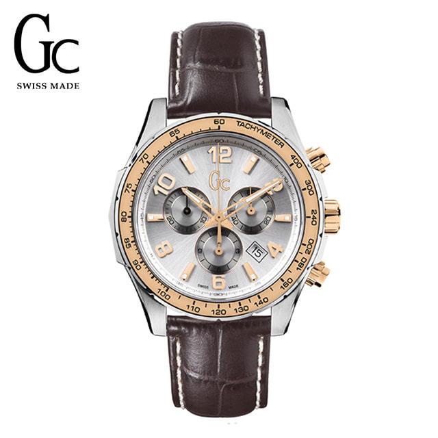 [지씨시계 GC] X51005G1S 남성용 가죽시계 / 쿼츠 44mm