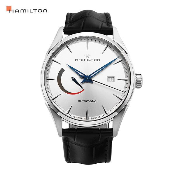 [해밀턴시계 HAMILTON] H32635781 / 재즈마스터(Jazzmaster) 오토매틱 남성 가죽시계 41.7mm