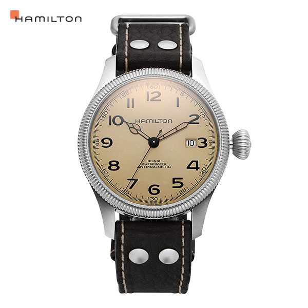 [해밀턴시계 HAMILTON] H60455593 카키 파이오니어 인터스텔라 시계 42mm