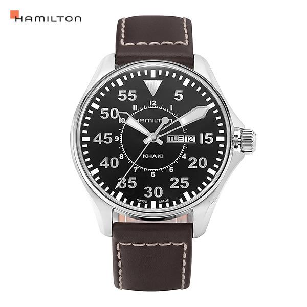 [해밀턴시계 HAMILTON] H64611535 카키 파일럿 44mm