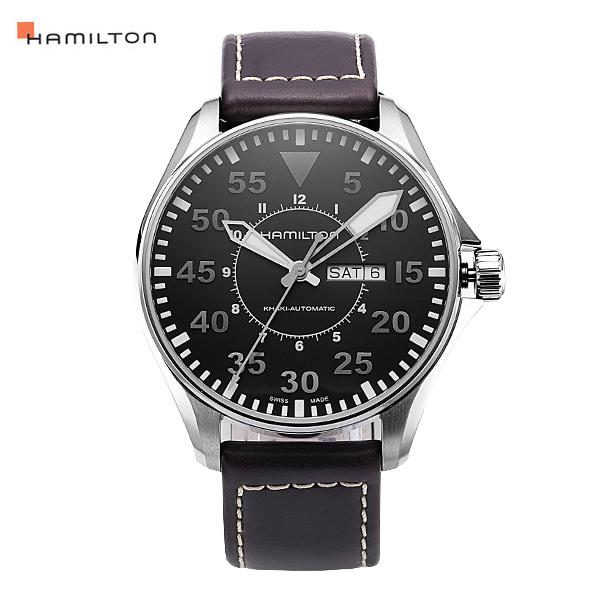 [해밀턴시계 HAMILTON] H64715535 카키 파일럿 45mm