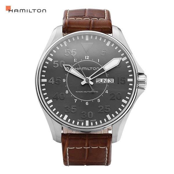 [해밀턴시계 HAMILTON] H64715885 카키 파일럿 46mm