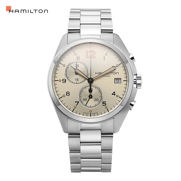 [해밀턴시계 HAMILTON] H76512155 카키 42mm