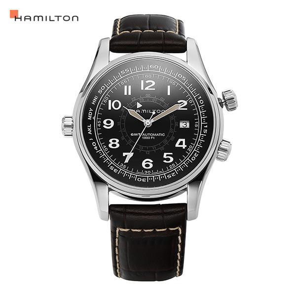 [해밀턴시계 HAMILTON] H77505535 카키 42mm