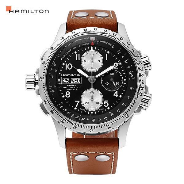 [해밀턴시계 HAMILTON] H77616533 카키 엑스윈드 크로노 44mm
