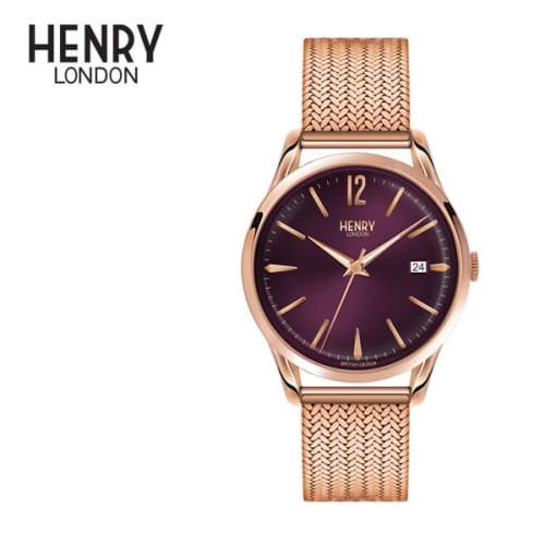 [헨리런던 HENRY LONDON] HL39-M-0078 Hampstead(햄스테드) 38.5mm