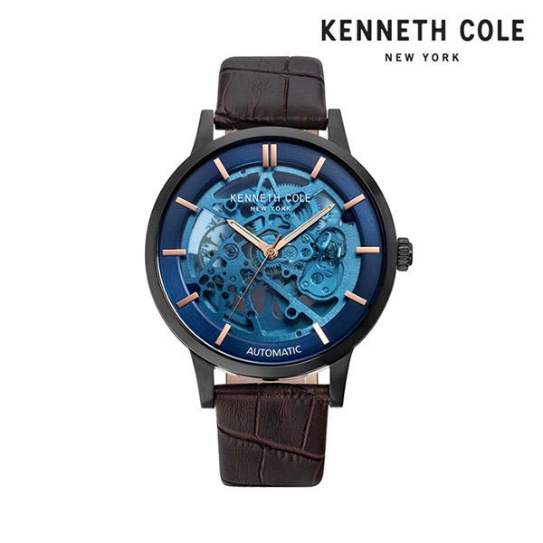 [케네스콜 KENNETH COLE] KC50559001 오토매틱 남성용 가죽시계 44mm 타임메카