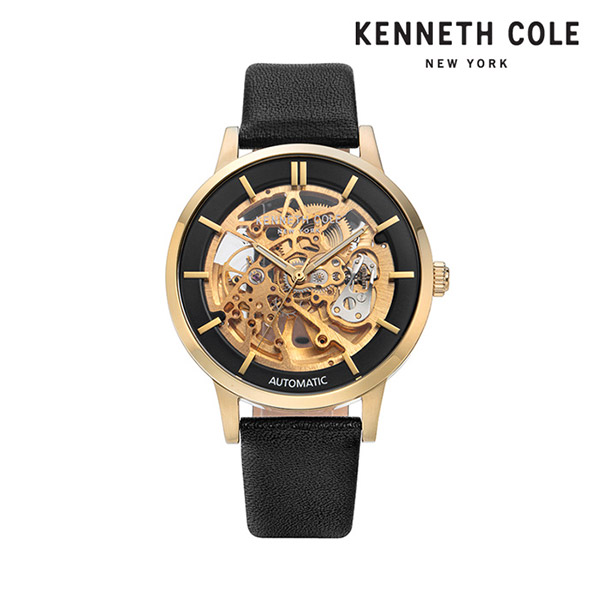 [케네스콜 KENNETH COLE] KC50559006 오토매틱 남성용 가죽시계 44mm 타임메카