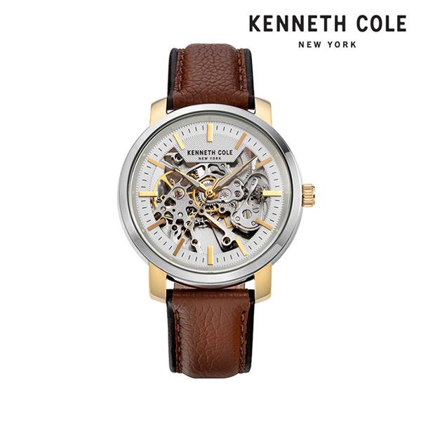 [케네스콜 KENNETH COLE] KC50776005 오토매틱 남성용 가죽시계 42.5mm 타임메카