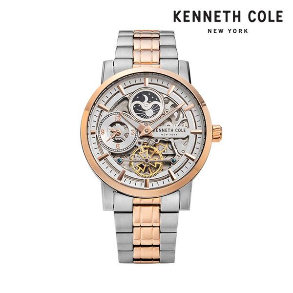 [케네스콜 KENNETH COLE] KC50917005 오토매틱 남성용 메탈시계 44mm 타임메카
