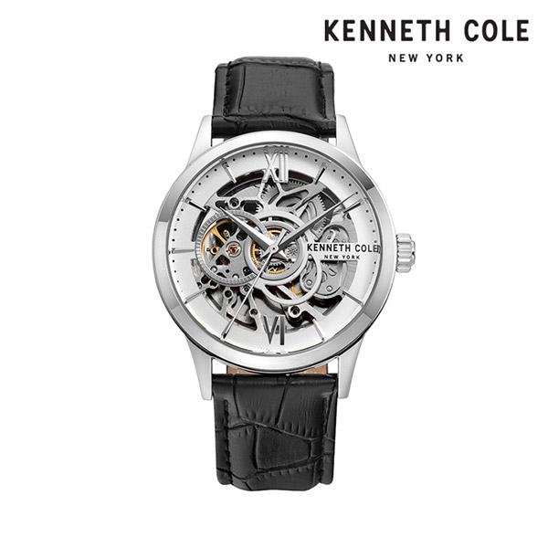 [케네스콜 KENNETH COLE] KC51021003 오토매틱 남성용 가죽시계 43mm 타임메카