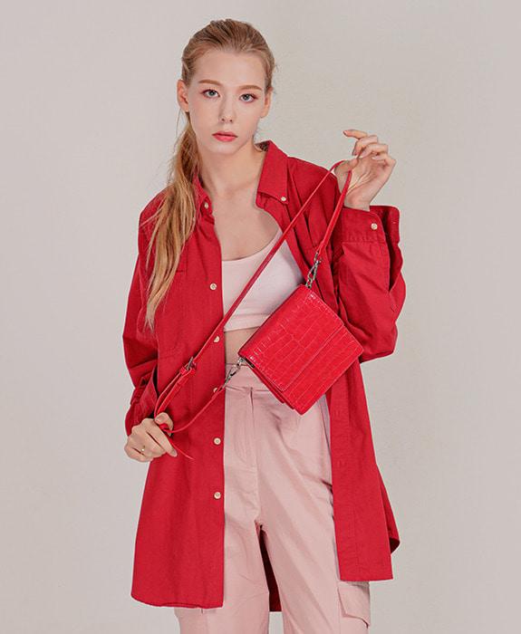 [록체 LOKCHE] 클레어 미니백 (LOK-0106)Claire Mini Bag -Red 타임메카