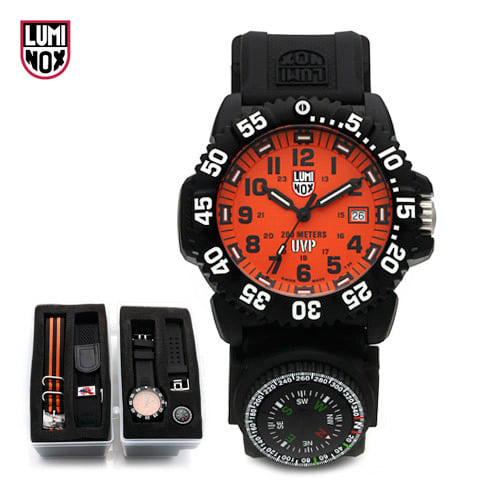 5월-) [루미녹스시계 LUMINOX] A.3059.SET / XS.3059.SET.BOXED (3059.SET / A.3059.SET) Navy SEALs2 나토밴드세트 44mm