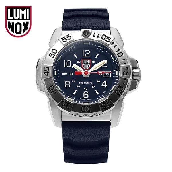 [루미녹스시계 LUMINOX] XS.3253 (3253) / NAVY SEAL STEEL 네이비 씰 3250 시리즈 남성용 우레탄시계 45mm 타임메카