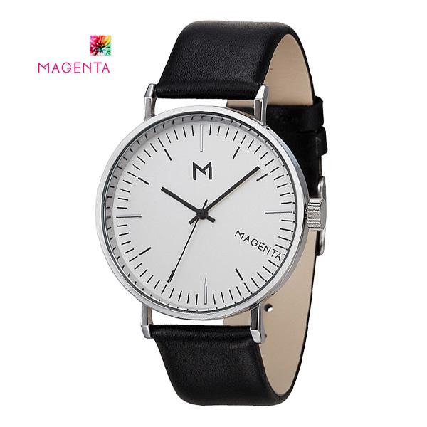 [마젠타 MAGENTA] MA113-WT-LM / 남성용 가죽시계 40mm 커플 [한국본사정품]