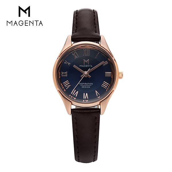 [마젠타 MAGENTA] MA117L-RG 여성용 가죽 시계