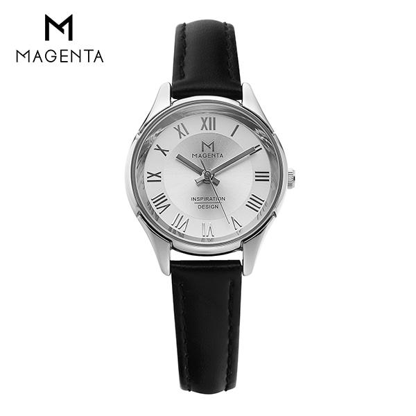 [마젠타 MAGENTA] MA117L-WH 여성용 가죽 시계