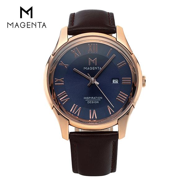 [마젠타 MAGENTA] MA117M-RG 남성용 가죽시계