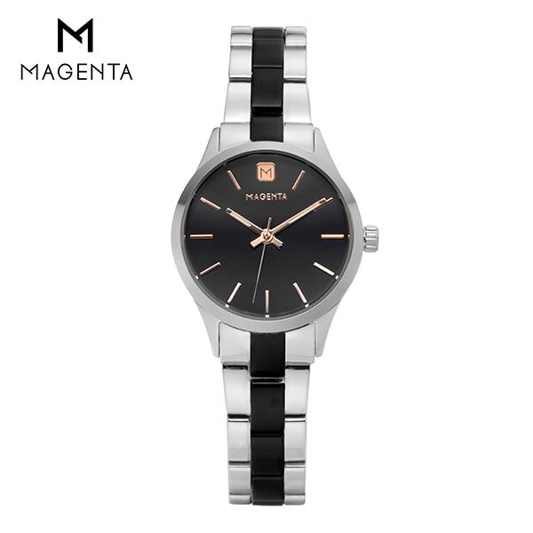 [마젠타 MAGENTA] MG888L.03.BK.MT / 여성 메탈 시계