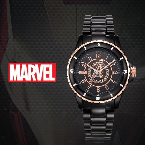 [마블 MARVEL] MA004-AVENBK 어벤져스 남성용 강화 플라스틱밴드 43mm [본사정품]