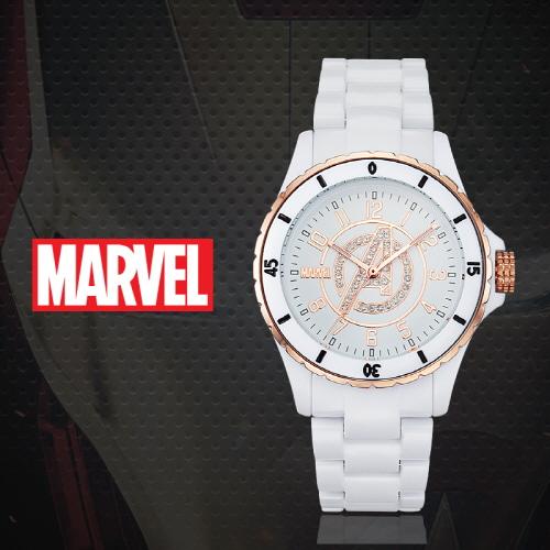 [마블 MARVEL] MA004-AVENWH 어벤져스 남성용 강화 플라스틱밴드 43mm [본사정품]