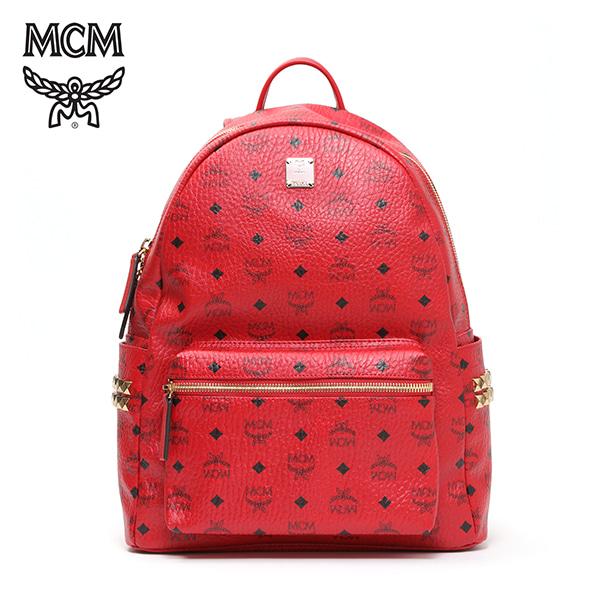 그뤠잇-) [엠씨엠 MCM] MMK6AVE38RU001 (MMK6AVE38)  / STARK BACKPACK MEDIUM 스타크 백팩