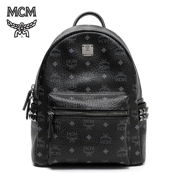 [엠씨엠 MCM] MMK6SVE37BK001 (MMK6SVE37)  / STARK BACKPACK SMALL 스타크 백팩