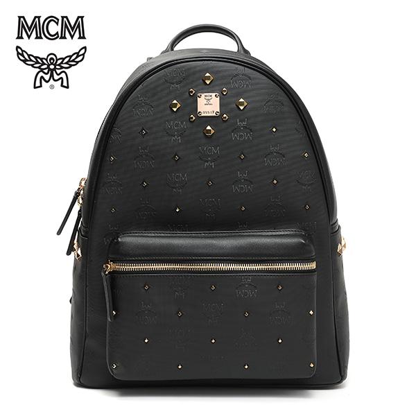 [엠씨엠 MCM] MMK6SVH43BK001 (MMK6SVH43)  / STARK ODEON BACKPACK Medium 스타크 백팩