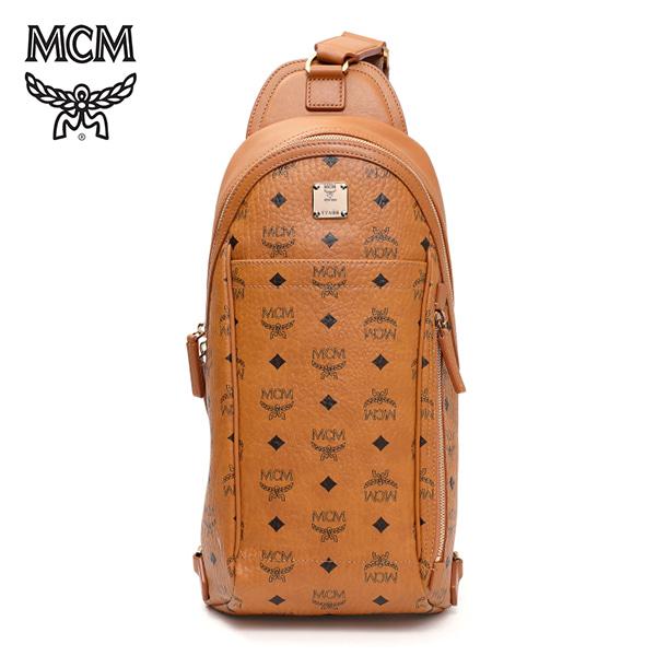 [엠씨엠 MCM] MML6SVE34CO001 (MML6SVE34)  / STARK SLING MEDIUM 스타크 슬링백