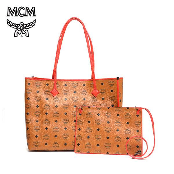 [엠씨엠 MCM] MWP6SKI01CO001 (MWP6SKI01)  / Kira Visetos East West Shopper Medium 쇼퍼백