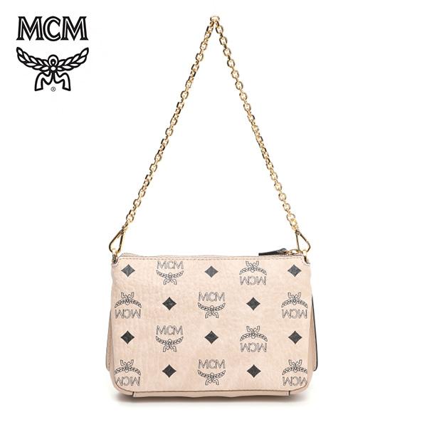 [엠씨엠 MCM] MYZ7SME01IG001 (MYZ7SME01)  / MILLIE VISETOS ZIP CROSSBODY SMALL 밀라 숄더백