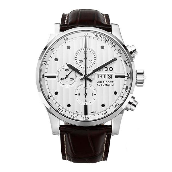 [미도 MIDO] M005.614.16.031.00 (M0056141603100) / 멀티포트 MULTIFORT Choronograph 44mm