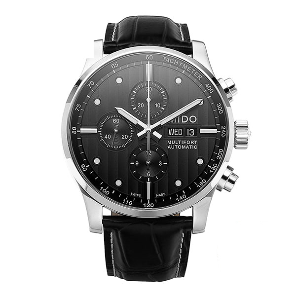 [MIDO 미도] M005.614.16.061.00 (M0056141606100) / 멀티포트 MULTIFORT Choronograph 44mm