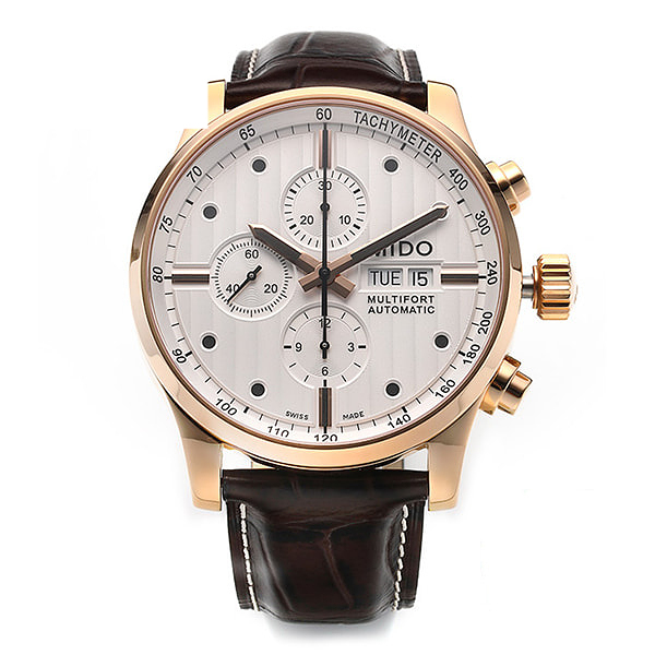 [미도 MIDO] M005.614.36.031.00 (M0056143603100) / MULTIFORT CHRONOGRAPH 남성용 44mm