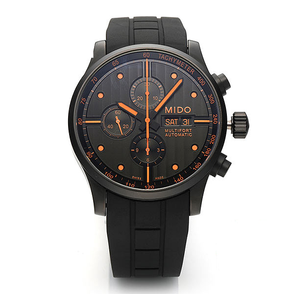 [미도 MIDO] M005.614.37.051.01 (M0056143705101) / MULTIFORT CHRONOGRAPH-SPECIAL EDITION 남성용 44mm
