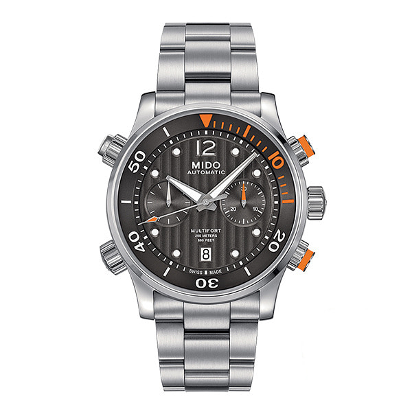 [MIDO 미도] M005.914.11.060.00 (M0059141106000) / 멀티포트 Miltifort GENT Chronograph 44mm