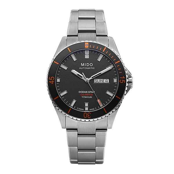 [미도 MIDO] M026.430.44.061.00 (M0264304406100) / 오션스타 Ocean Star 신형 Automatic 티타늄 시계 42.5mm