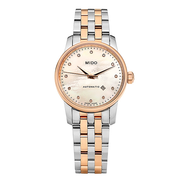 [MIDO 미도] M7600.9.69.1 (M76009691) / 바론첼리 Baroncelli II Automatic Lady 29mm