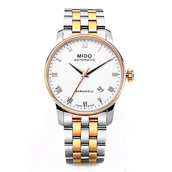 [MIDO 미도] M8600.9.N6.1(M86009N61) / BARONCELLI AUTOMATIC 38mm