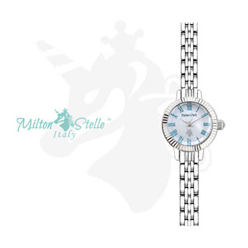 [밀튼스텔리시계 MILTONSTELLE] MS-078S 여성 메탈시계 [한국본사정품] 왕빛나 착용시계