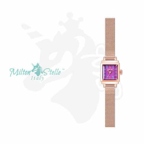 [밀튼스텔리시계 MILTONSTELLE] MS-103MR 여성 매쉬시계 [한국본사정품]