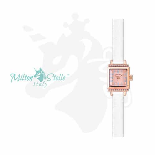 [밀튼스텔리시계 MILTONSTELLE] MS-103R 신소율 시계 여성 가죽시계 [한국본사정품]