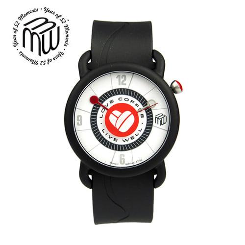 5월-) [모먼트워치시계 MOMENTS] MW4752 커피콩시계/유재석시계 40mm