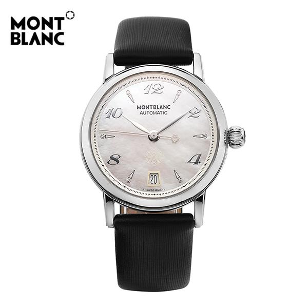 [리퍼상품] 몽블랑 107118 오토매틱 여성 가죽시계 / ( 밴드 사용감으로리퍼) 타임메카