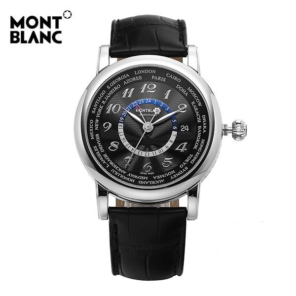 [몽블랑 MONTBLANC] 109285 / 스타 월드 타임 Automatic 남성용 42mm