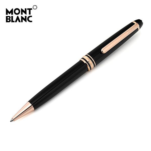 [몽블랑 MONTBLANC] 112679 164 P164 / 마이스터스튁 레드골드 클래식 볼펜