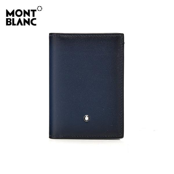 [몽블랑 MONTBLANC] 113168 셀렉션 스푸마토 명함지갑