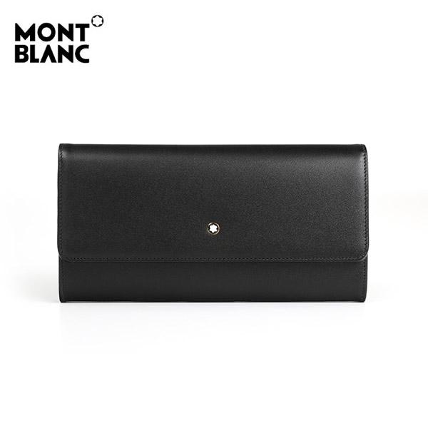 5월-) [몽블랑 MONTBLANC] 114530 / 마이스터스튁 10cc 플랩 장지갑