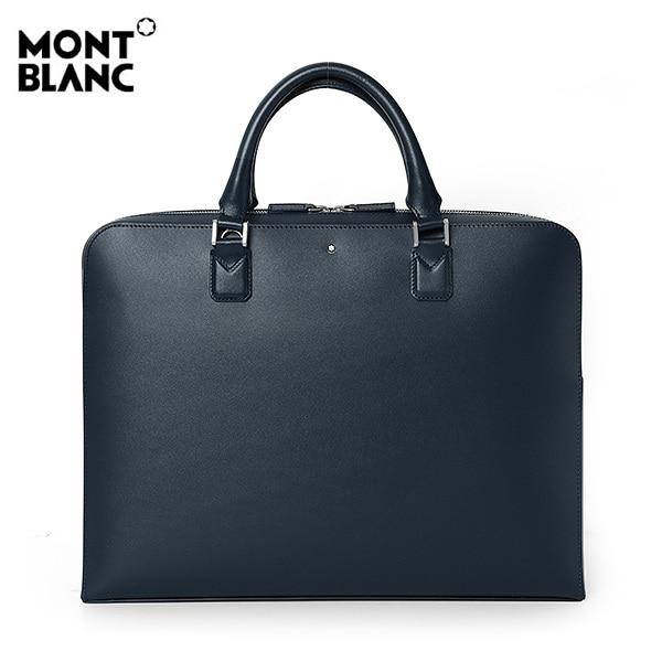 [몽블랑 MONTBLANC] 118288 / 마이스터스튁 울트라 슬림 도큐먼트 케이스 서류가방(네이비) 타임메카
